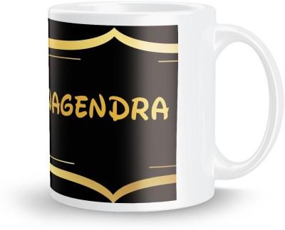 posterchacha Nagendra Name Tea And Coffee  For Gift And Self Use Ceramic Mug