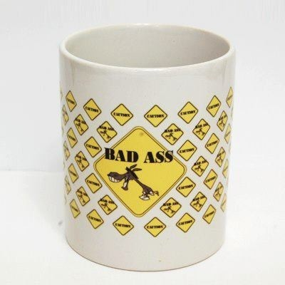 The Purple Sack Badass Ceramic Mug
