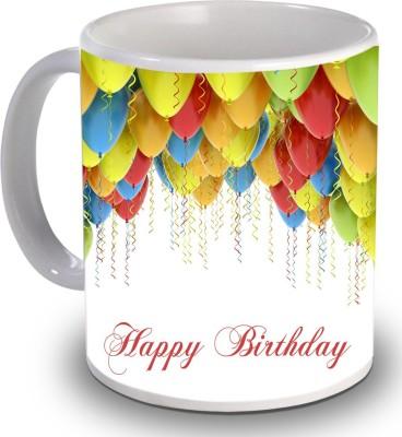 Print Helllo Happy Birthday R223 Ceramic Mug