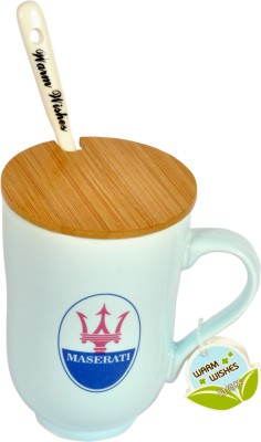 Hommate Maserati Luxury Car Brand Exclusive Ceramic Mug