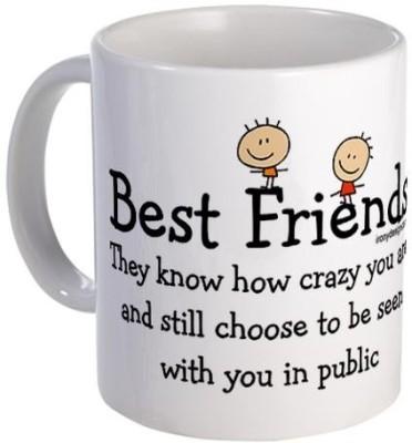Giftsmate Best Friends Ceramic Mug