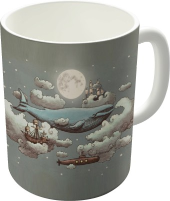 Dreambolic Ocean Meets Sky Ceramic Mug