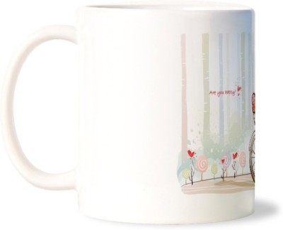 Lovely Collection Are You Happy with Me Ceramic Mug