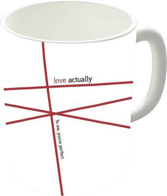 The Fappy Store Minimalist - Love Actually #1 Ceramic Mug