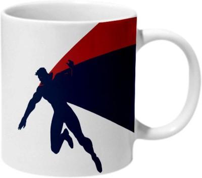 Mooch Wale Batman Vs Superman Artwork Ceramic Mug