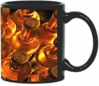 Printland Printland Whiskey Black Coffee 350 - ml Ceramic Mug(350 ml) best price on Flipkart @ Rs. 349
