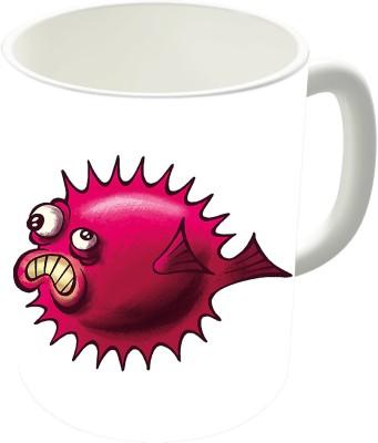 The Fappy Store Grumpy Fish Ceramic Mug