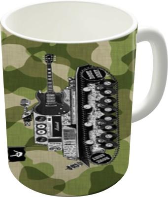 The Fappy Store Rock Army Ceramic Mug