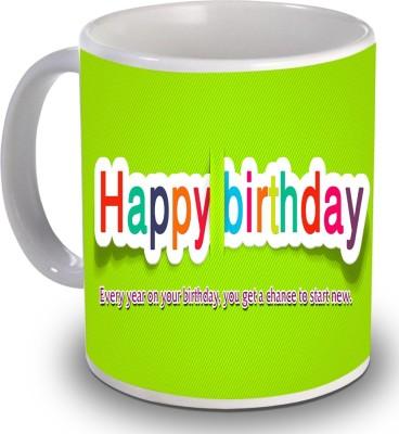Print Helllo Happy Birthday R218 Ceramic Mug