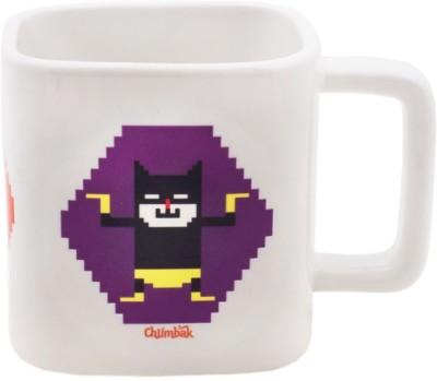 Chumbak Pixel Heros Square  Ceramic Mug