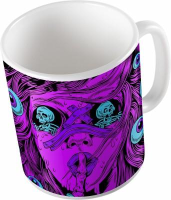 Uptown 18 Skull Ceramic Mug