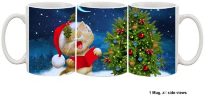 Furnish Fantasy Christmas Carols Ceramic Mug