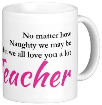 Easyhome We all Love You a Lot ( Female) Ceramic Mug