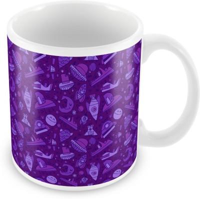 AKUP pink pattern Ceramic Mug