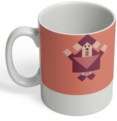 PosterGuy Creative Chinese Style Geometric Art Creative, Chinese, Style, Geometric, Flat, Famous Art, Character, Cartoon, Art, Print, Product, Online, Low Pricing, High-quality, Design, Illustration, Vector. Ceramic Mug