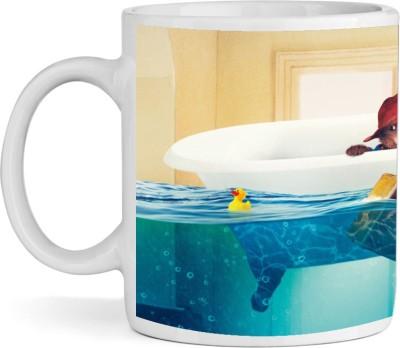 BSEnterprise Drowning Rat Ceramic Mug