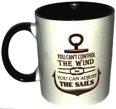 Exxact You Can,t Control Ceramic Mug