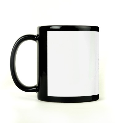AURRA PRINTED BLACK-741 Ceramic Mug