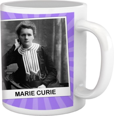 Tiedribbons My Daughter,My Pride Collection_Marie Curie Ceramic Mug