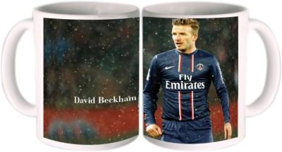 Shopkeeda FIFA 2014 David Beckham Playing For Nation Ceramic Mug