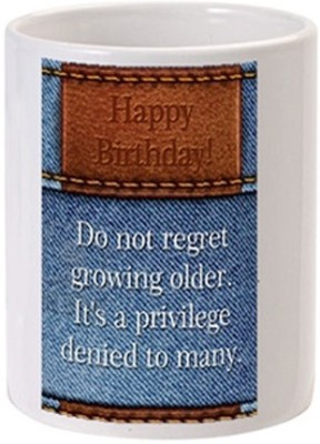 Allthingscustomized Happy Birthday Ceramic Mug