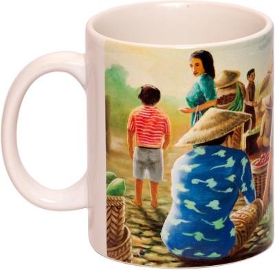 IMFPA Thai Village Ceramic Mug