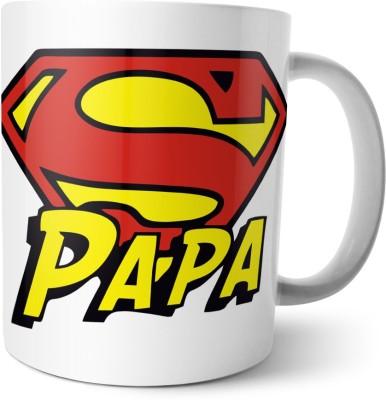 Chiraiyaa Happy Fathers Day - Hero Dad Ceramic Mug