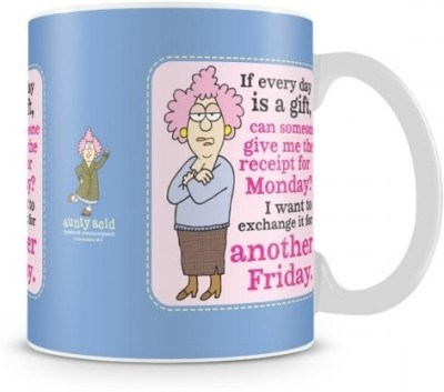 Aunty Acid Exchange Monday for another Friday Ceramic Mug