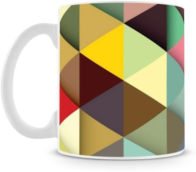 Saledart Mg469-Beautiful And Colorful Background Wallpaper Ceramic Mug