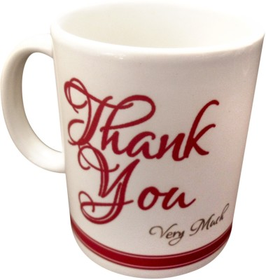 Luxury Gifts By Nikki Thank You Ceramic Mug