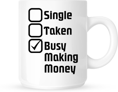 G&G Busy Making Money Ceramic Mug