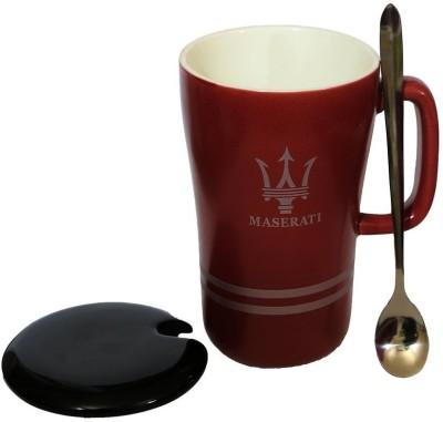Satyam Kraft Maserati Super Cars Ceramic, Porcelain Mug