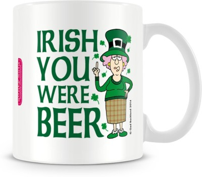 Aunty Acid Irish you were Beer Ceramic Mug