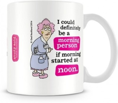 Aunty Acid Morning Person Ceramic Mug