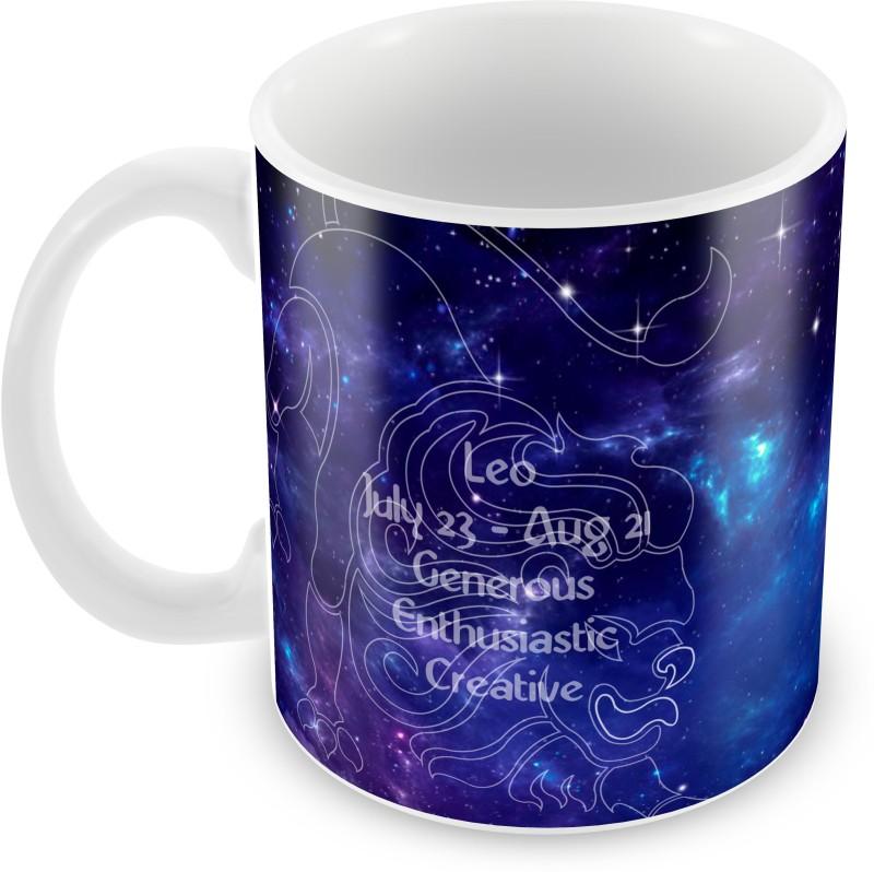 Posterboy Leo Zodiac Sign Ceramic Mug(350 ml)