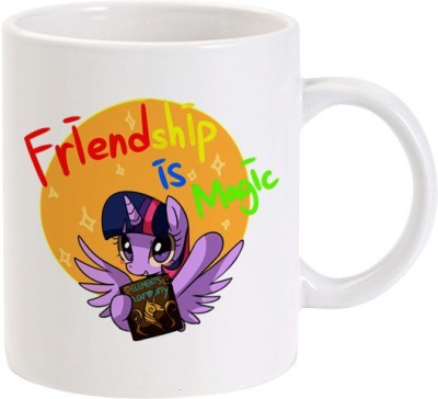 Lolprint Friendship Is Magic Ceramic Mug