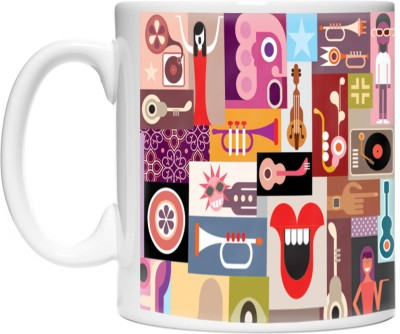 Pinqart Vector Design Fun Party Entertainent Ceramic Mug