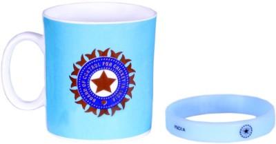 ICC India Cricket Team T20 World Cup Official Cheering Souvenier Kit 2 Ceramic Mug