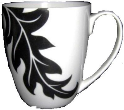 Tata Ceramic Acanthus Coffee  Bone China Mug