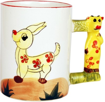 Tjaggies Deer Everyday Use Ceramic Mug