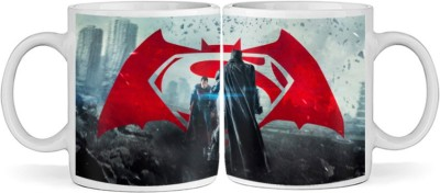 SBBT Super Fighters Ceramic Mug