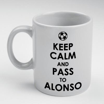 Prokyde Prokyde Keep Calm & Pass to Alonso  Ceramic Mug