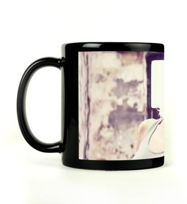 Shoperite Old House Girl Ceramic Mug