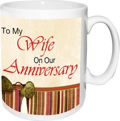 alwaysgift To My Wife On Our Anniversary  Ceramic Mug