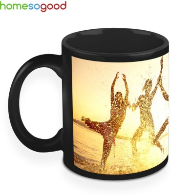 HomeSoGood Rocking Down The Sunlight Ceramic Mug