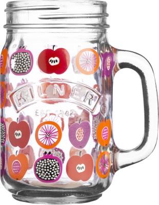 Kilner FRUIT COCKTAIL HANDLE MUG Glass Mug
