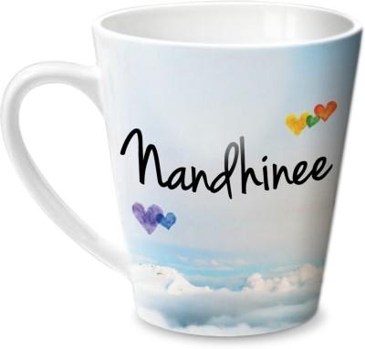 Hot Muggs Simply Love You Nandhinee Conical  Ceramic Mug