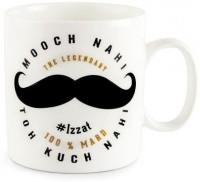 Happily Unmarried Mooch Coffee Ceramic Mug best price on Flipkart @ Rs. 250