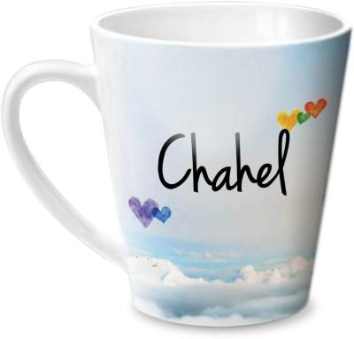 Hot Muggs Simply Love You Chahel Conical  Ceramic Mug