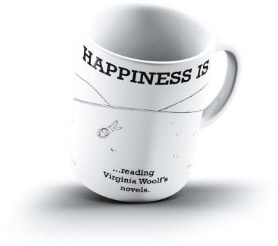Ucard Happiness Is1897 Bone China, Ceramic, Porcelain Mug